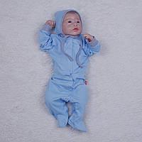 Человечек-пижамка Mini голубой, фото 1