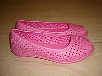 Балетки женские (туфли, босоножки, кроксы) летние с эва материала