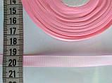 Лента репсовая 1 см. Нежно-розовая, фото 2