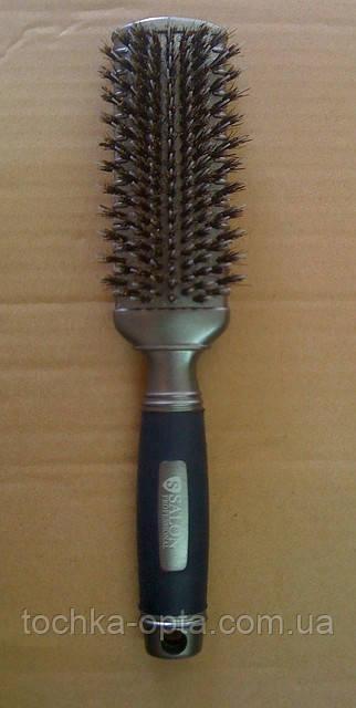 Массажная щетка  SALON PROFESSIONAL со щетиной для нарощенных волос(1375RPT)