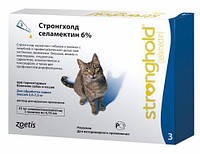 Стронгхолд 6%(Stronghold) капли для котов (1 пипетки)