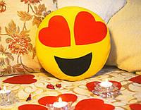Подушка-смайлик Emoji #1 Влюбленный, фото 1