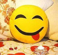 Подушка-смайлик Emoji #7 Весельчак, фото 1