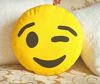 Подушка-смайлик Emoji #15 Моргунчик, фото 1