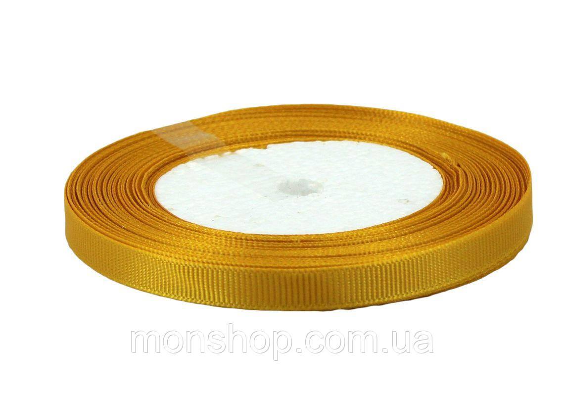 Мандариновая репсовая лента 0,6см
