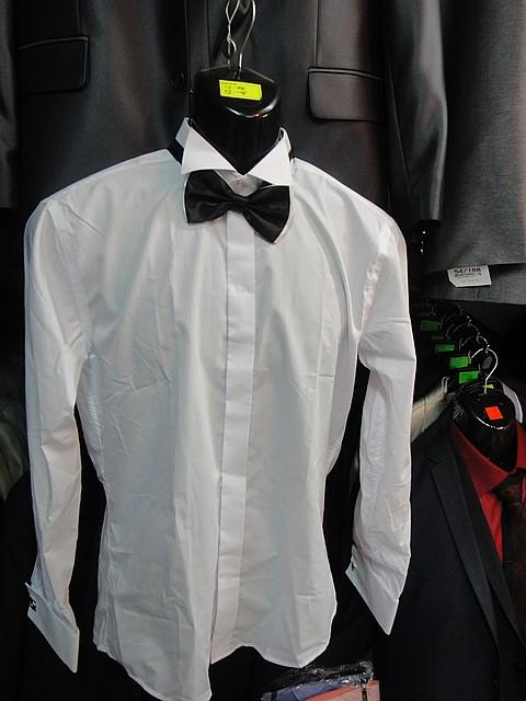 """Рубашка мужская """"G.Fratelli"""" под бабочку"""