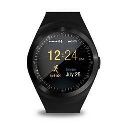 Умные Смарт-часы Smart Watch Y1 Black Original