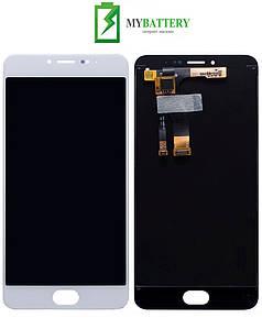 Дисплей (LCD) Meizu M3s (Y685Q/Y685H)/M3s mini с сенсором белый