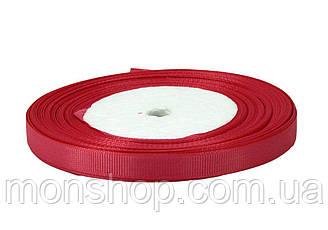 Красная репсовая лента 0,6см