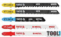 Набор профессиональных полотен для лобзика Yato YT-3445