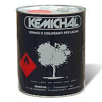 Лак для дерева акриловый прозрачный OCV826G20+C325 KEMICHAL шелковисто-матовый (Италия) (5л+0.5л)