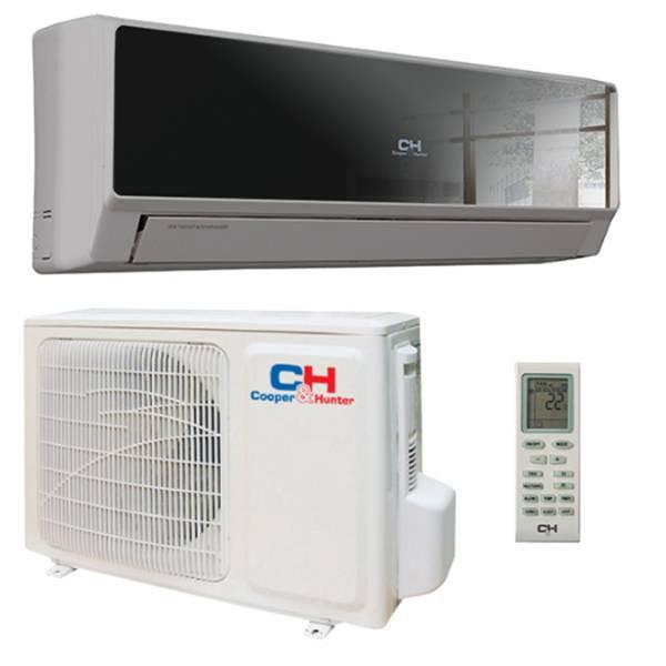Тепловой насос, Cooper&Hunter, модель-CH-S12BKP6 . Производительность-Охлаждение, кВт: 3. 25, Обогрев, кВ