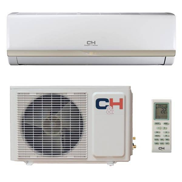 Тепловой насос, Cooper&Hunter, модель-CH-S12XP4 . Производительность-Охлаждение, кВт: 3. 25, Обогрев, кВт