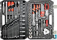 Набор инструмента для ремонта автомобиля 125 шт. Yato YT-38875