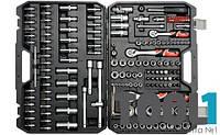Набор инструмента для автомобиля с насадками 173 ед Yato YT-38931