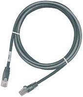Кроссовый шнур Molex RJ45, 568B, STP, PowerCat 6A, LSZH, 2 м, Gray