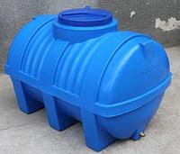 Пластиковая емкость горизонтальная - ЕG 750 л. двухслойная