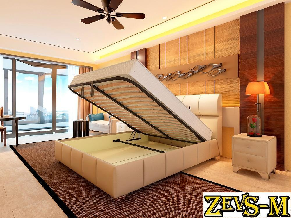 Кровать с механизмом Zevs-M Барселона 140*190