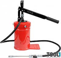 Ручной переносной нагнетатель консистентной смазки на 4 литра Yato YT-07061