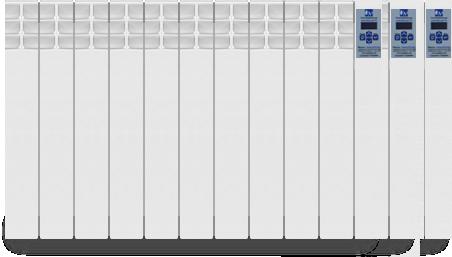 Электрорадиатор Оптимакс 7 секций 840 Вт
