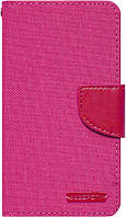 Чехол-книжка Goospery Canvas Diary Universal 4.0'-4.5' Hot Pink