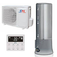 Тепловой насос, Cooper&Hunter, WT200SW1. 5EHK. Воздух-вода с баком ГВС.