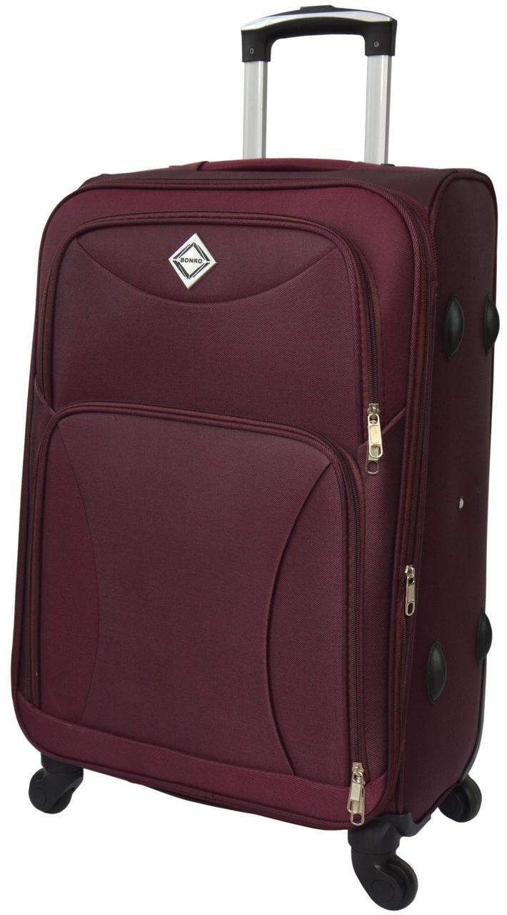 Дорожный чемодан на 4 колесах Bonro Tourist Марсала Средний