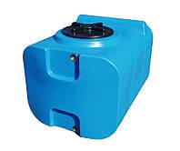 Пластиковая емкость квадратная П/прям-к - ЕК 200 л. двухслойная