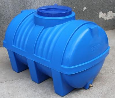Пластиковая емкость горизонтальная - ЕG 100 л. двухслойная