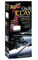 Meguiar's G1116 Quik Clay Detailing System Starter Kit Набор для подготовки поверхности кузова
