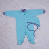 Комбинезон пижама Mini ментоловый, фото 5