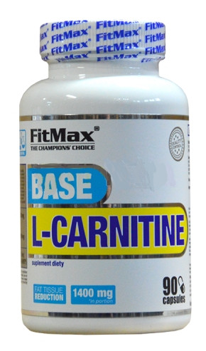 Жиросжигатель FitMax - Base L-carnitine (90 капсул)