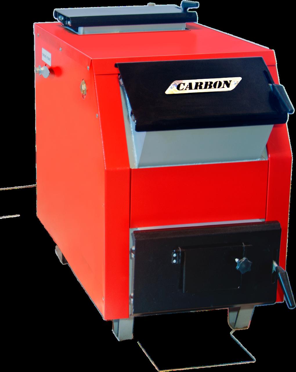 Котел твердотопливный Carbon КСТО-16-20ДГ
