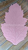 Молд  листа мака, пластиковый., фото 1