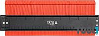 Шаблон 260 мм для копирования сложных профилей Yato YT-3736