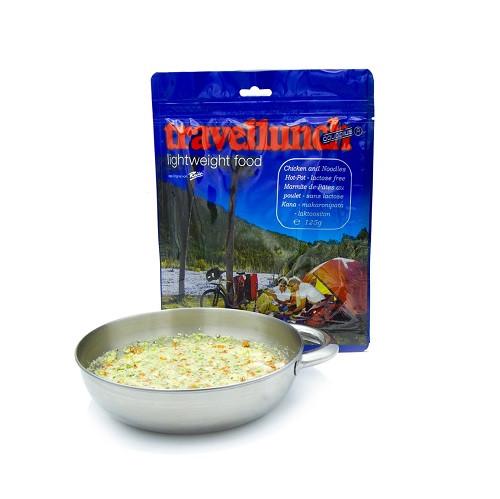 Travellunch Chiken and Noodles Hot-Pot 250g / Тушеная курица с лапшой