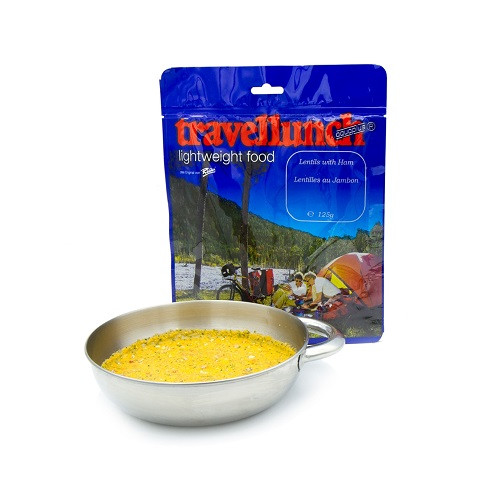 Travellunch Lentils with Ham 125g / Чечевица с ветчиной