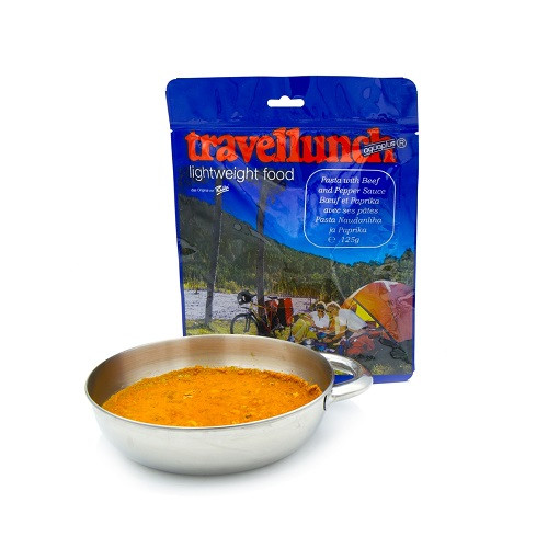 Travellunch Pasta with Beef and Pepper Sauce 125g / Паста з яловичиною і перцем