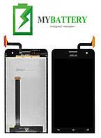 Дисплей (LCD) Asus ZenFone 5 (A500CG/A500KL/A501CG) с сенсором черный