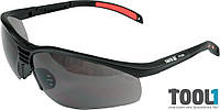 Защитные очки открытые затемненные Yato YT-7364
