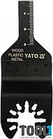 Пильное полотно по дереву и металлу на реноватор Yato YT-34683