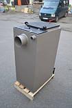 Котел Холмова шахтный твердотопливный 15 кВт Bizon FS с увеличенным бункером.Бесплатная доставка!, фото 6