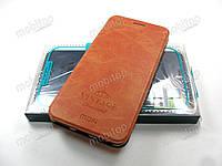Чехол книжка MOFI Vintage Xiaomi Mi A2 (коричневый)