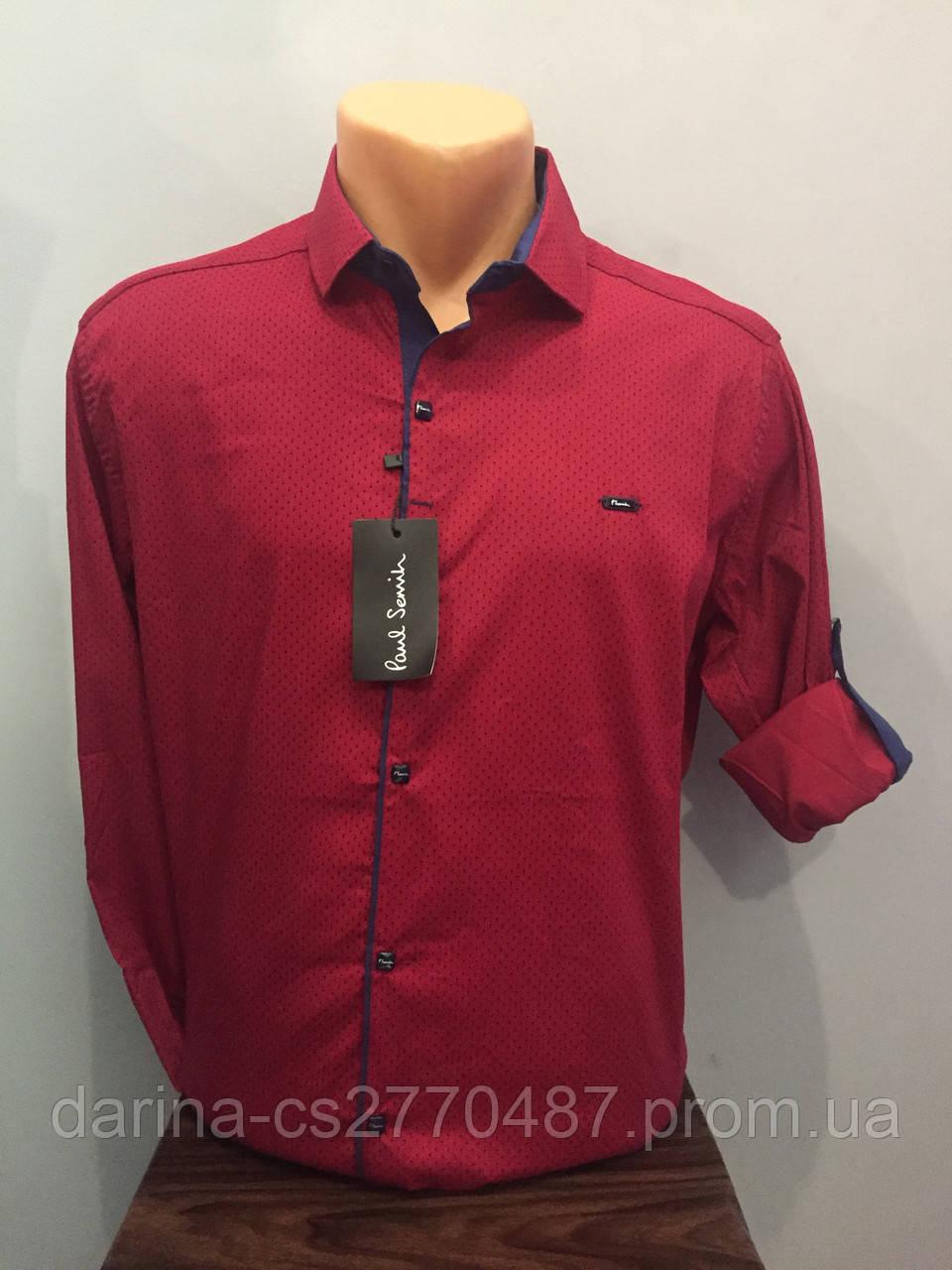 Мужская рубашка турецкая модная М