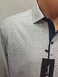 Турецкая мужская рубашка на кнопках S, фото 2