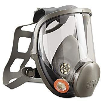 Полнолицевая маска, размер L - 3M Reusable Full Face Mask Respirator (6900)