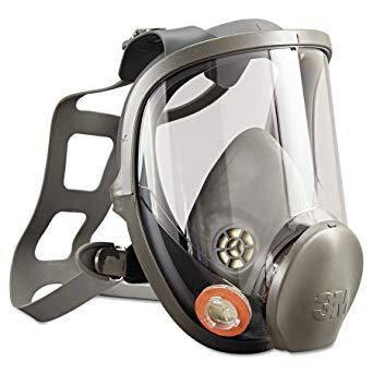 Полнолицевая маска, размер L - 3M Reusable Full Face Mask Respirator (6900), фото 2