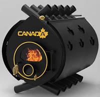 Булерьян, отопительная печь «CANADA» «03» стекло+перфорация 27 кВт-700 М3, фото 1