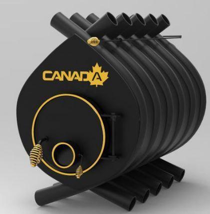 Булерьян, отопительная печь «CANADA» «04» 35 кВт-1000 м.куб.