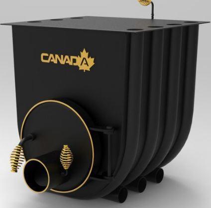 Булерьян, отопительная печь «CANADA» с варочной поверхностью «03» 27 кВт-750 М3
